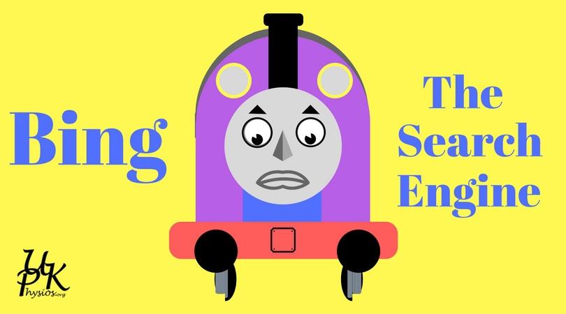 Bing The Forgotten Engine :-(